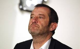 Philippe Perez, directeur général de l'OM, le 13 janvier 2012 à La Commanderie, Marseille.