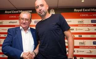 Gerard Lopez (à dr.), propriétaire de Mouscron et bientôt des Girondins