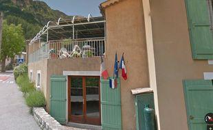 La mairie de Rigaud (Alpes-Maritimes)
