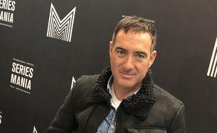 Álex Pina, le créateur de «La Casa de Papel» au Forum Series Mania à Lille le 2 mai 2018.