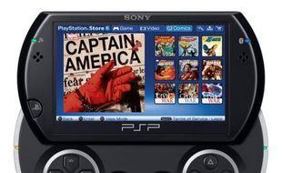 La PSP Go de Sony va accueillir un système de téléchargement de comics.