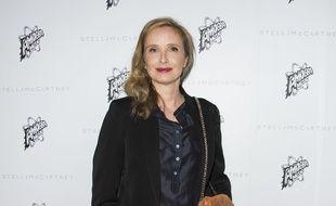La comédienne et réalisatrice Julie Delpy le 12 janvier 2016.