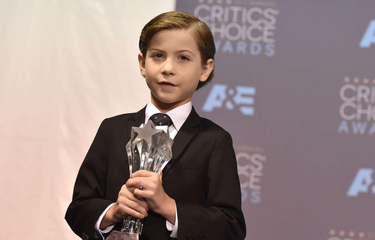 Le jeune acteur Jacob Tremblay lors des Critics' Choice Awards le 17 janvier 2016 – Jordan Strauss/AP/SIPA