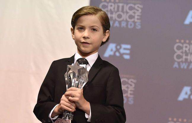 Le jeune acteur Jacob Tremblay lors des Critics' Choice Awards le 17 janvier 2016