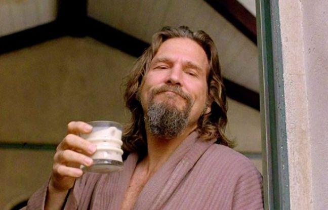 Jeff Bridges boit un russe blanc dans