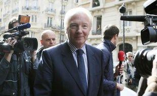 Brice Hortefeux le 15 octobre 2013 à Paris