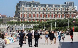 L'Hôtel du Palais à Biarritz qui accueillera le sommet du G7 à partir de samedi soir.