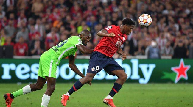 Losc-Wolfsburg : Lille rate la victoire à quelques centimètres près