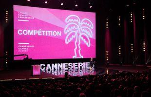 Cérémonie de Clôture de CanneSeries au Palais des Festivals, à Cannes, le 13 octobre 2021.