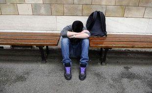 Illustration: Harcèlement entre enfants et adolescents a l'école, mai 2011.