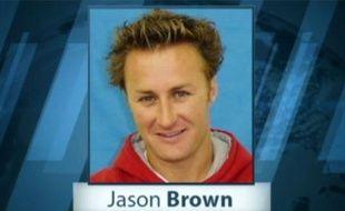 Capture d'écran d'un reportage d'ABC News sur Jason Brown, l'un des criminels les plus recherchés des Etats-Unis.