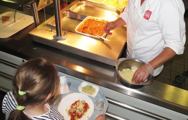 Toutes les cantines scolaires de Lille, servent désormais deux repas végétariens par semaine.