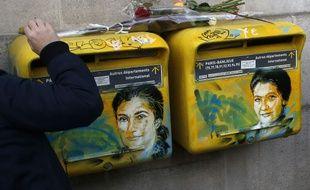 Les portraits restaurés de Simone Veil.