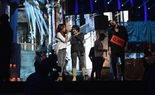 Amel Bent et Liane Foly chantent en anglais sur la scène des Enfoirés à Strasbourg cette année.