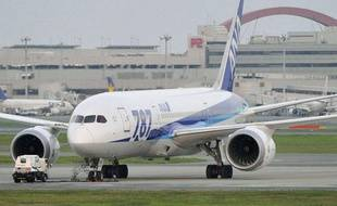 Illustration d'un Boeing 787 de la compagnie japonaise ANA.
