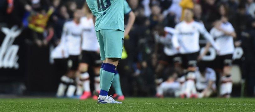 Messi et le Barça vivent une saison galère.