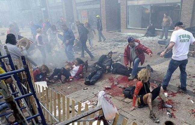 Un attentat à la bombe a fait au moins 3 morts et 130 blessés, le 15 avril 2013, à Boston.