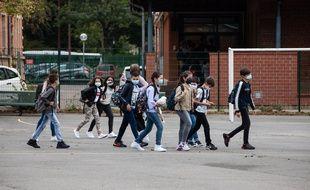 Metz, mardi 1er septembre 2020, Collège BARBOT.