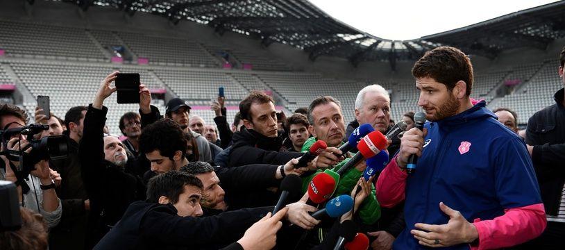 Pascal Papé, pendant la grève
