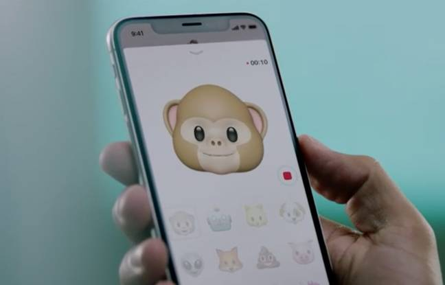Les Animoji, attraction de l'iPhone X.
