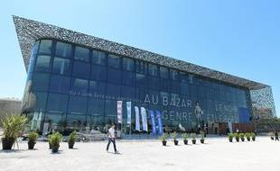 Visite du MUCEM avant l'inauguration en présence du président de la  république François Hollande et l'ouverture au public le 7 juin prochain  avec l'exposition «Au Bazar du genre, Féminin-Masculin en Méditerranée», le 3 juin 2013.