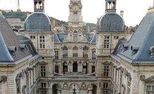 La mairie de Lyon.