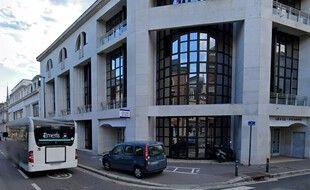 Le commissariat de police d'Amiens.
