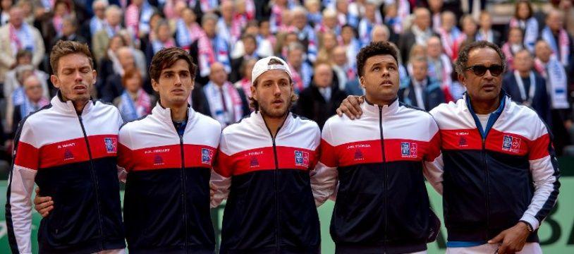 L'équipe de France de tennis entrevoit la finale de la coupe Davis