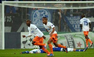 Souleymane Camara égalise contre Schalke 04 en Ligue des champions (2-2), le 3 octobre 2012 à Gelsenkirchen.