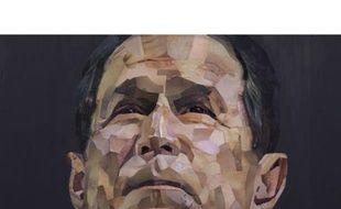 Le portrait de Bush signé Jonathan Yeo