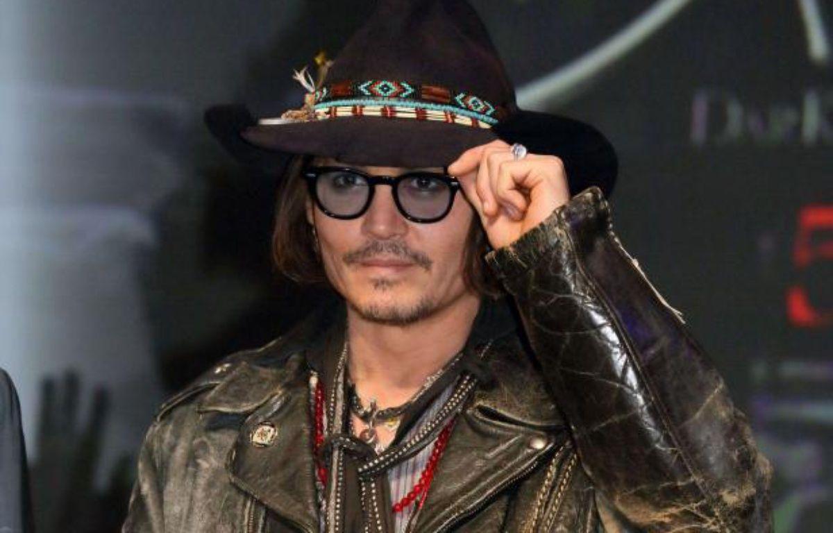 Johnny Depp à la conférence de presse de Dark Shadows à Tokyole 13 mai 2012. – Masatoshi Okauchi / Rex/REX/SIPA