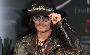 Johnny Depp à la conférence de presse de Dark Shadows à Tokyole 13 mai 2012.