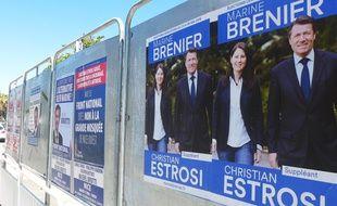 Le second tour des législatives voit s'affronter Marine Brenier et Michel Brutti.