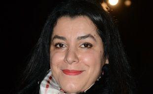 Marjane Satrapi à Paris le 10 mars 2015.
