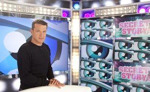 """Benjamin Castaldi, animateur de """"Secret Story"""", sur TF1."""