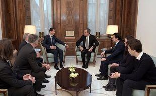 Le député Thierry Mariani a rencontré le président syrien Bachar al-Assad le 8 janvier 2017