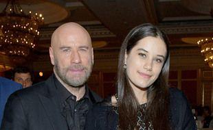 L'acteur John Travolta et sa fille Ella Bleu