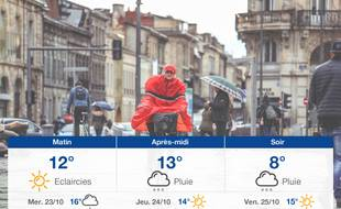 Météo Bordeaux: Prévisions du mardi 22 octobre 2019