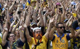 Au total, plus de 30.000 supporters s'étaient de nouveau réunis à Clermont sur la place de Jaude pour suivre la victoire de leurs Jaunards en Top 14 de rugby.