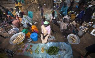 La famine est en partie due aux conflits locaux qui privent les habitants de nourritur.