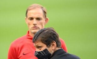 Thomas Tuchel et Leonardo ne semblent plus du tout sur la même longueur d'ondes au PSG.