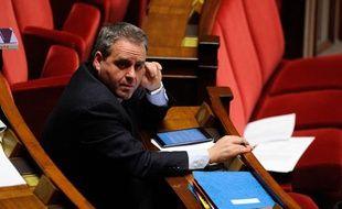Xavier Bertrand, le 3 février 2013 à l'Assemblée.