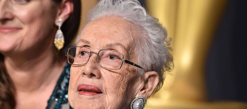Katherine Johnson à la cérémonie des Oscars, le 26 février 2017.
