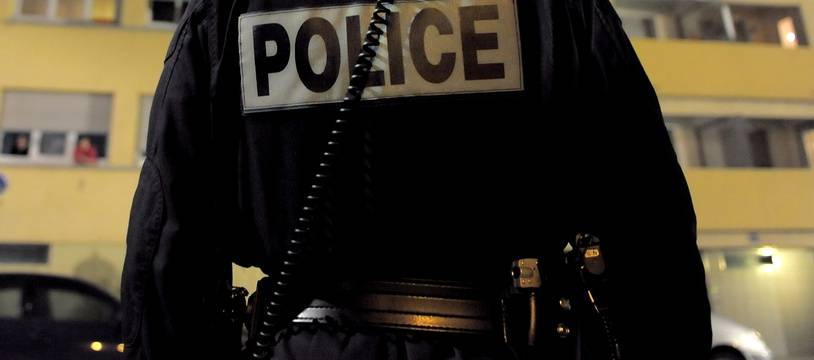 Un policier. (Illustration)