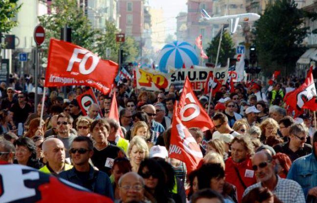 Les syndicats organisent une nouvelle manifestation samedi dans la capitale azuréenne.