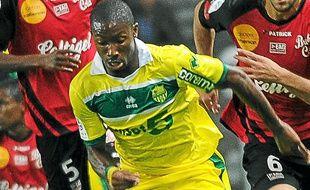 L'attaquant nantais Serge Gakpé.