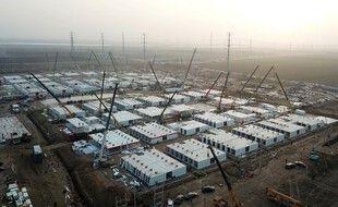 Le centre de quarantaine à Shijiazhuang, près de Pékin, le 21 janvier 2021.