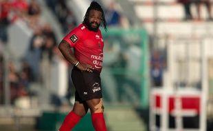 Mathieu Bastareaud le 7 novembre 2015 à Toulon (Var)