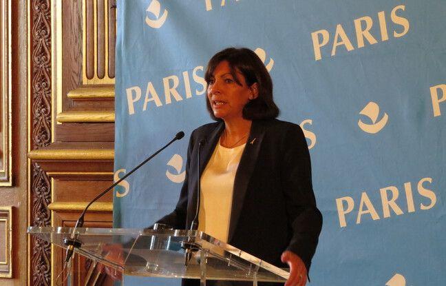 Anne Hidalgo, la maire de Paris a convoqué la presse pour souligner qu'elle ne défendrait pas une candidature de témoignage aux JO de 2024.