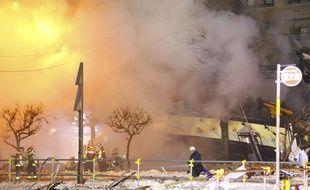 L'explosion s'est produite dans un restaurant de Sapporo, le 16 décembre 2018.